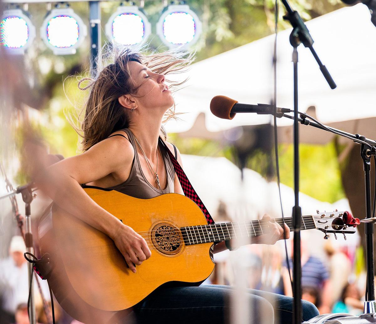 Tiffany Christopher at Tucson Folk Fest