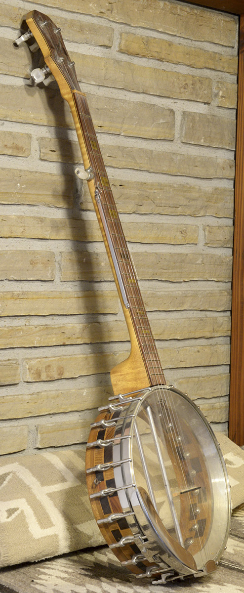 Ron's first banjo made in 1975