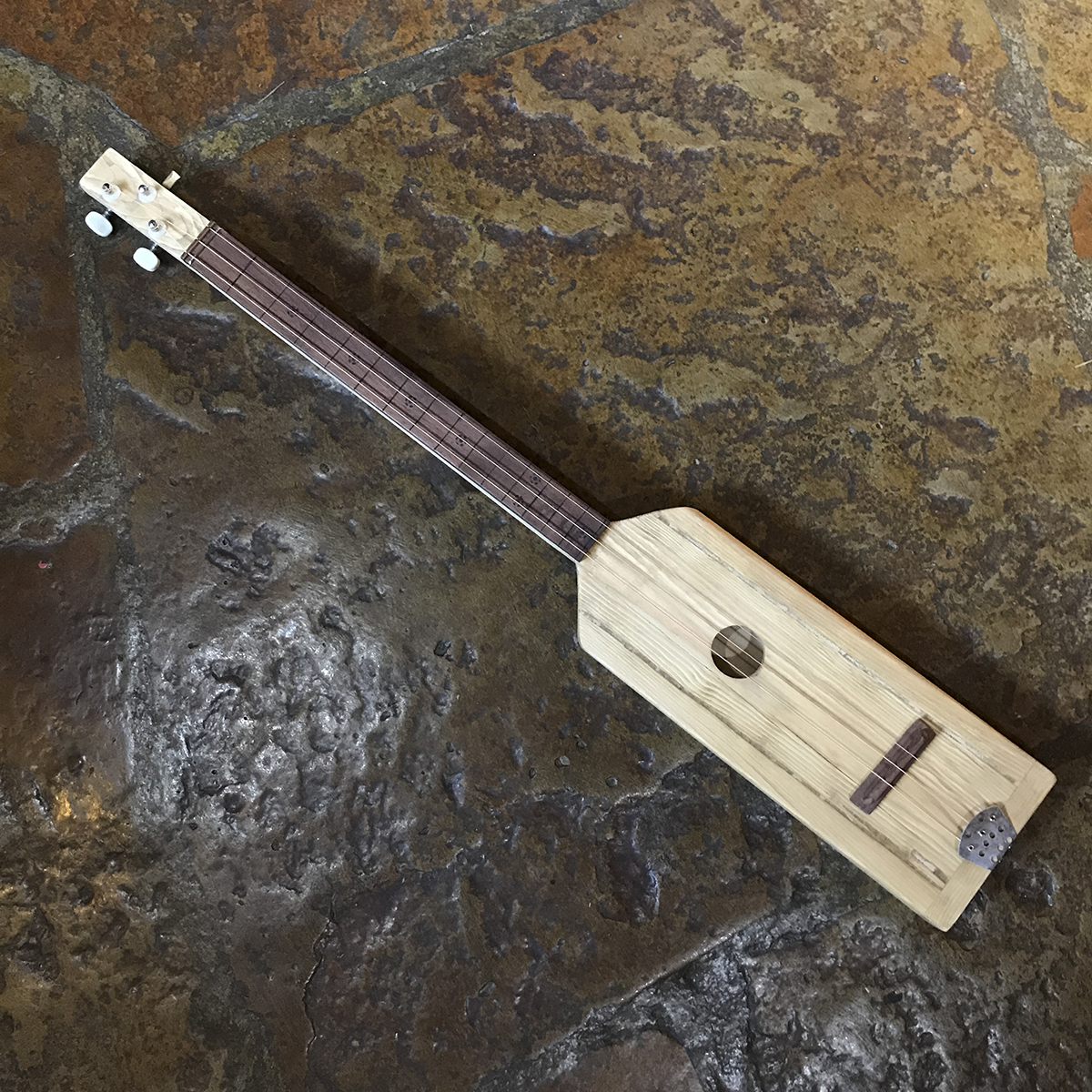 Guitar made from a 2x4