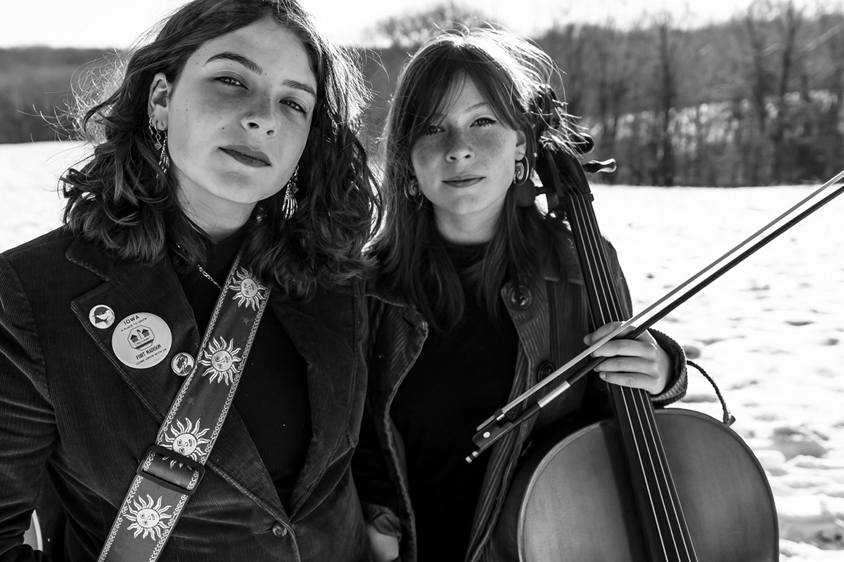 The Burney Sisters | Photo by Colin LaVaute