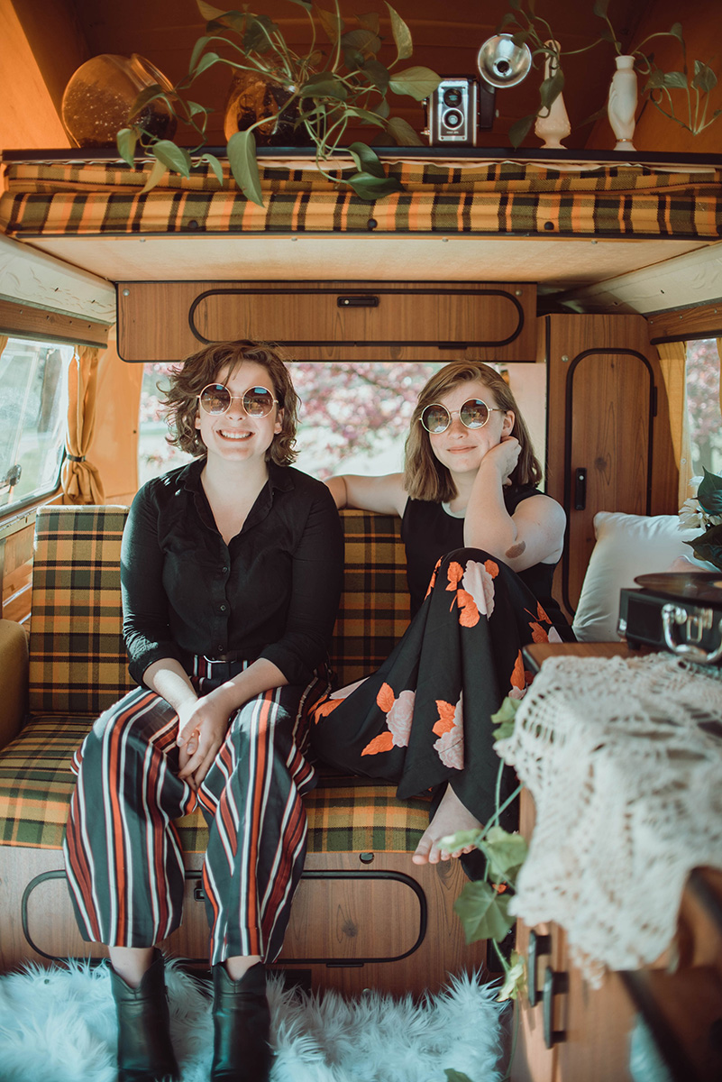 The Burney Sisters | Photo by Amber Nicole Theissen