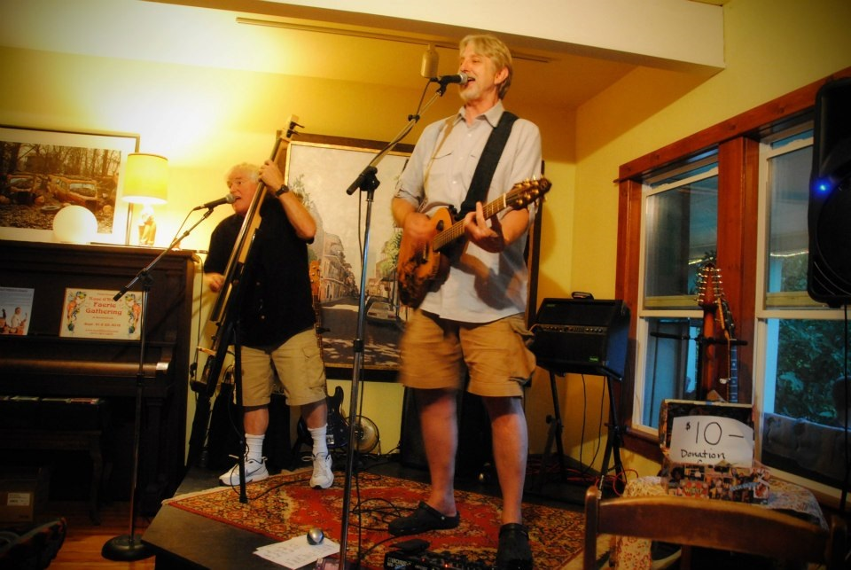 The Rock House concert with Trout Fishing in America