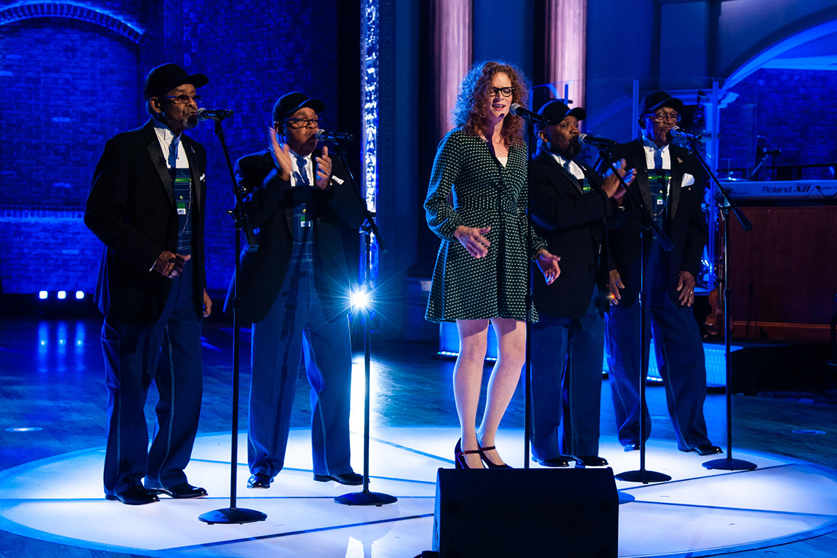 Becky Buller and The Fairfield Four | Photo courtesy of The Huckabee Show