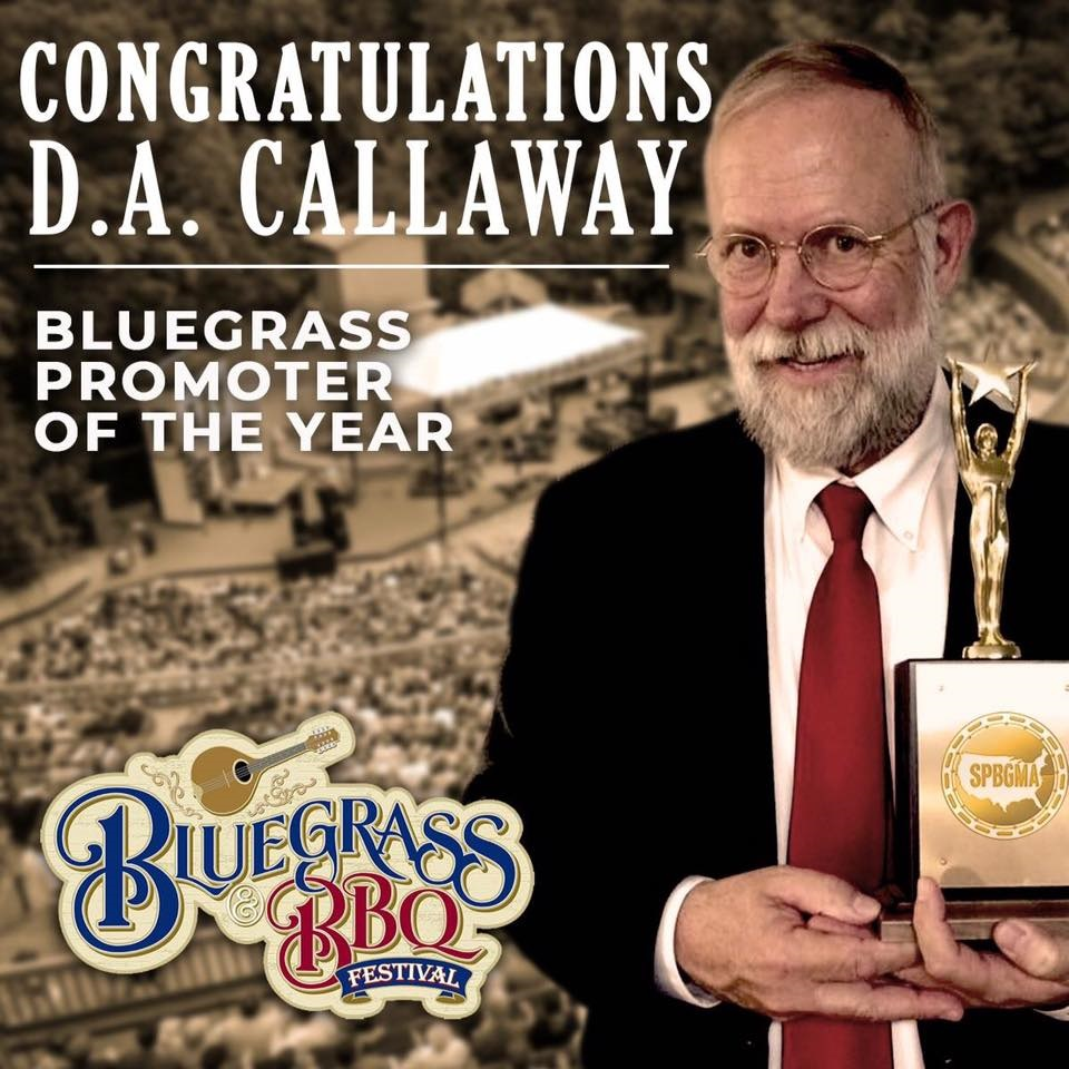 D. A. Callaway SPBGMA Promoter of the Year