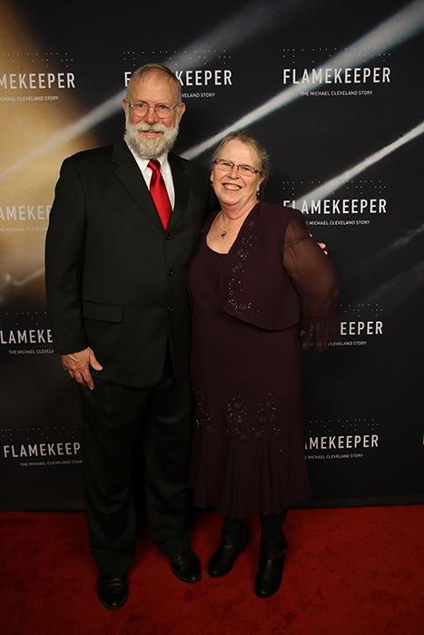 D. A. & Marye at Flamekeeper premier 2019