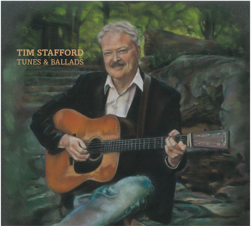 Tim Stafford | Tunes & Ballads | Cover art by Tuesdee Zoldy