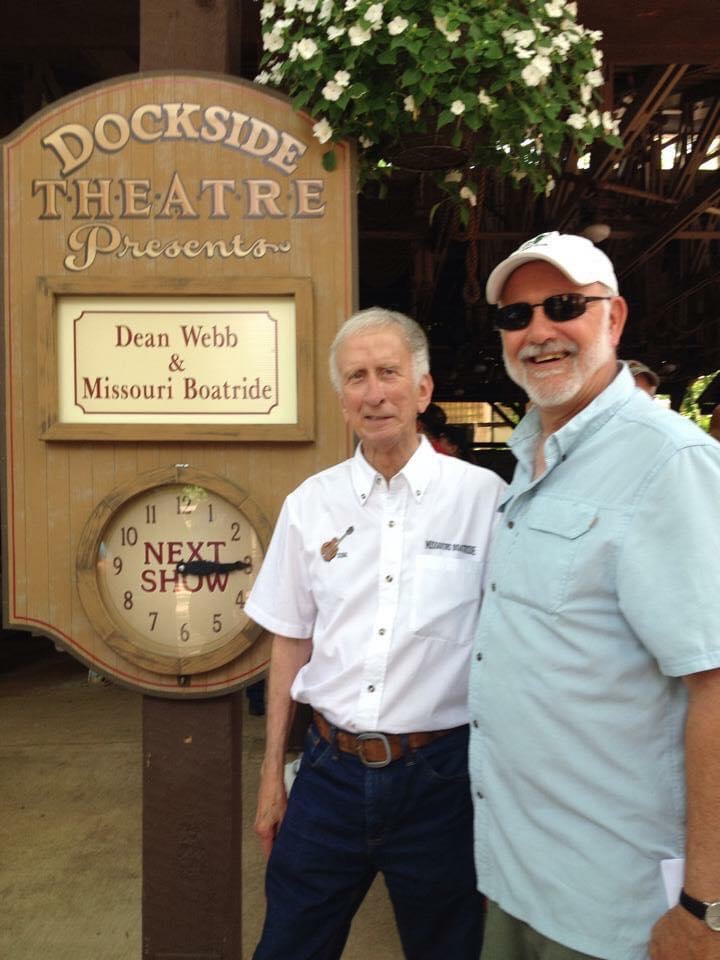 Dean Webb of The Dillards with Mike Smith