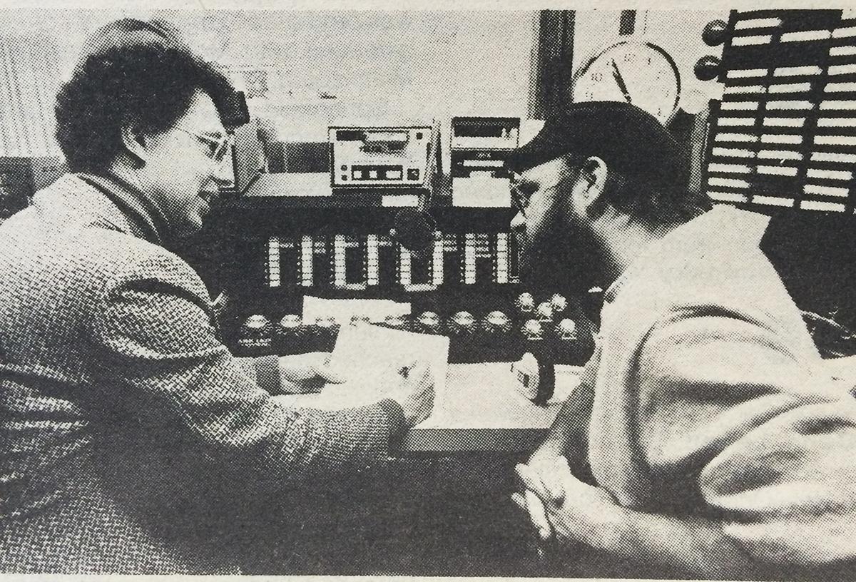Arlen Diamond and Mike Smith | Photo courtesy MSU Standard