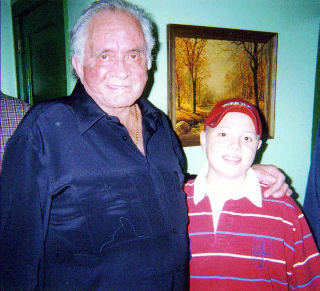 Johnny Cash and Trey Hensley