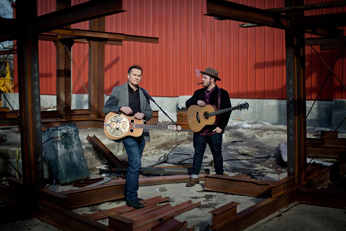 Rob Ickes and Trey Hensley   Photo by Stacie Huckeba