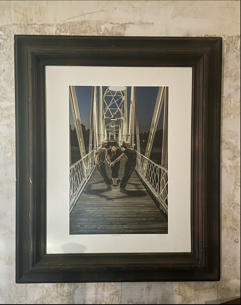 Bridge on Commercial Street, Springfield, Missouri | Framed 30x36 inches | Photo by Steven Spencer