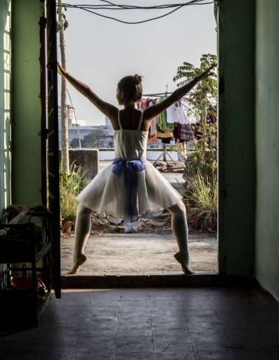 Ballet student in Cambodia | Photo by Steven Spencer