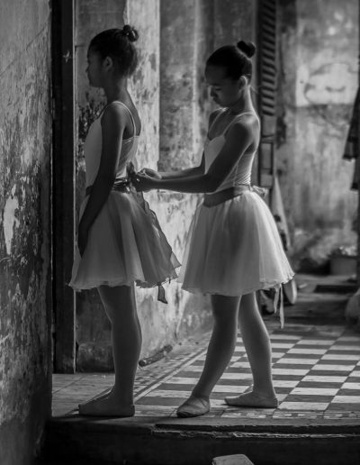 Ballet students in Cambodia | Photo by Steven Spencer